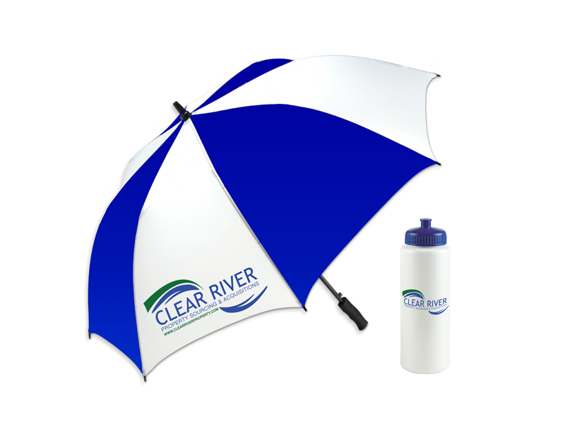 Clear River promotional items