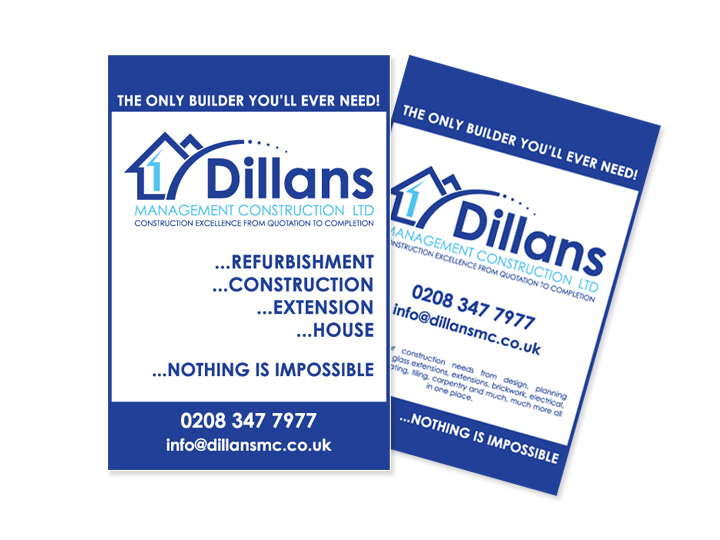 Dillians - A6 Advert