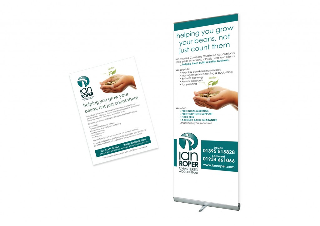 Ian Roper Chartered Accountant - Roller Banner
