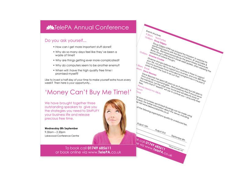 TelePA promotional leaflet