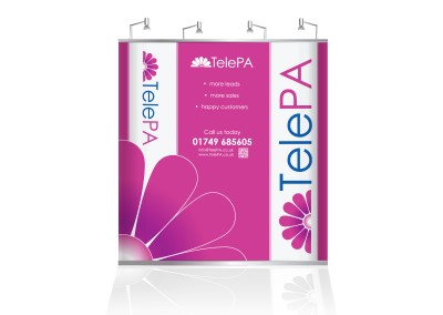 TelePA PopUp Stand