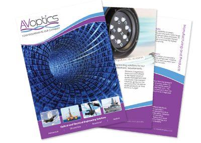 AVoptics A4 Brochure