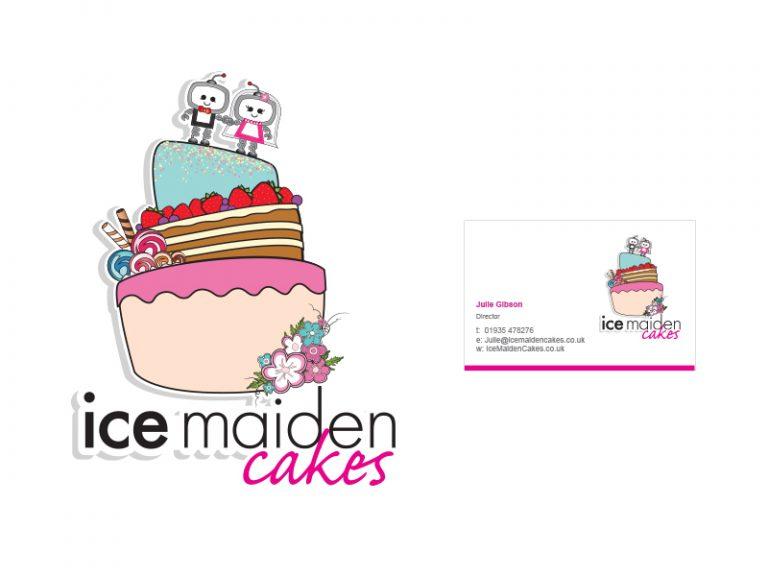 Ice Maiden Cakes