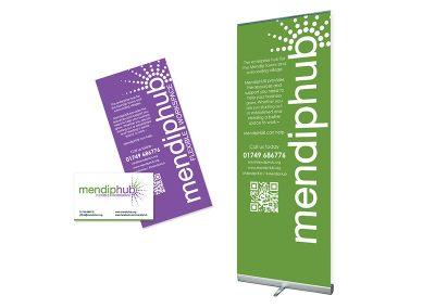Mendiphub Roller Banner