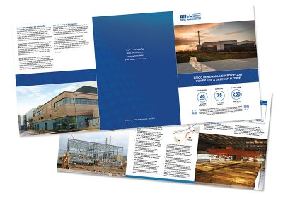 Brigg Renewable Energy Plant A4 - 6 Pg Newsletter - in conjuction with Sillson Communications Ltd