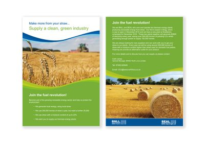 BEAL Promotional Leaflet - in conjuction with Sillson Communications Ltd