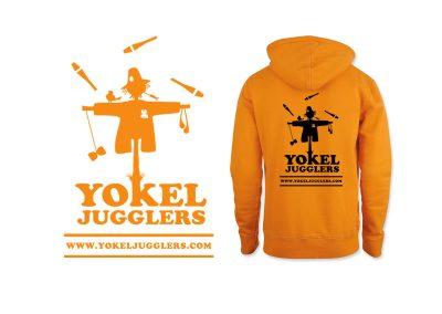 Yokel Jugglers - Hoodie Design