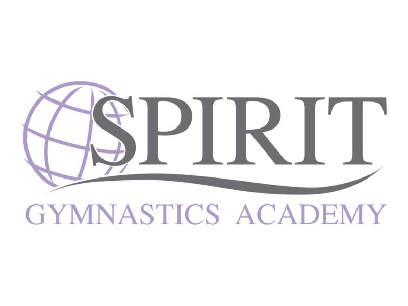 Spirit gymnastics logo artwork